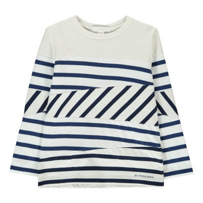 Burberry Vincent Striped T-Shirt-listing