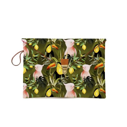 Maison Baluchon Pochette Macbook 13'' Jungle-listing