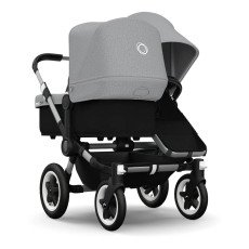 product-Bugaboo DONKEY DUO Aluminium/Imitation Leather Pushchair