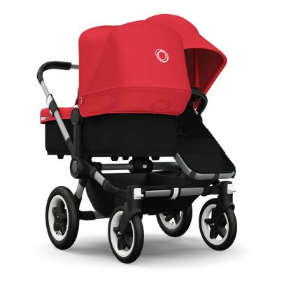 Bugaboo Poussette DONKEY DUO aluminium/smili-cuir-listing