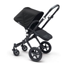 Bugaboo Complete CAMELEON³ Puchair With Black Frame, Imitation Leather Handfuls & Black Base-listing