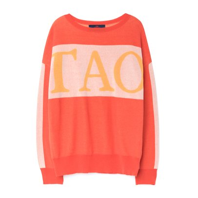 "The Animals Observatory Pullover ""TAO"" Algodón Bull-listing"