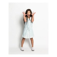 Munsterkids Agent Chambray Buttoned Dress-listing