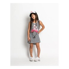 Munsterkids Flimson Flamingo Striped Dress-listing