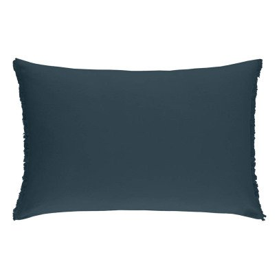 Communauté de biens Washed Linen Rectangle Cushion-listing