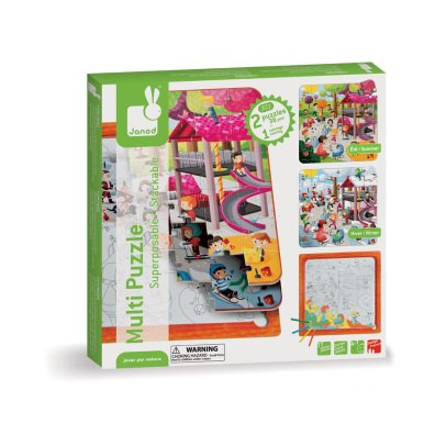 Janod 3 in 1 Puzzle -product
