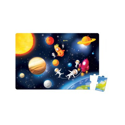 Janod Giant space puzzle-product