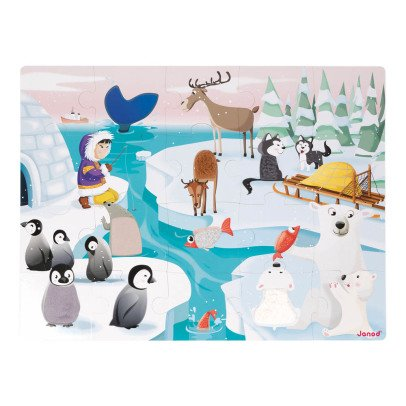 Janod Life On Ice Touch & Feel Puzzle-listing