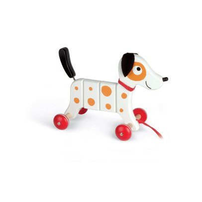 Janod Rocky the dog pull toy-listing