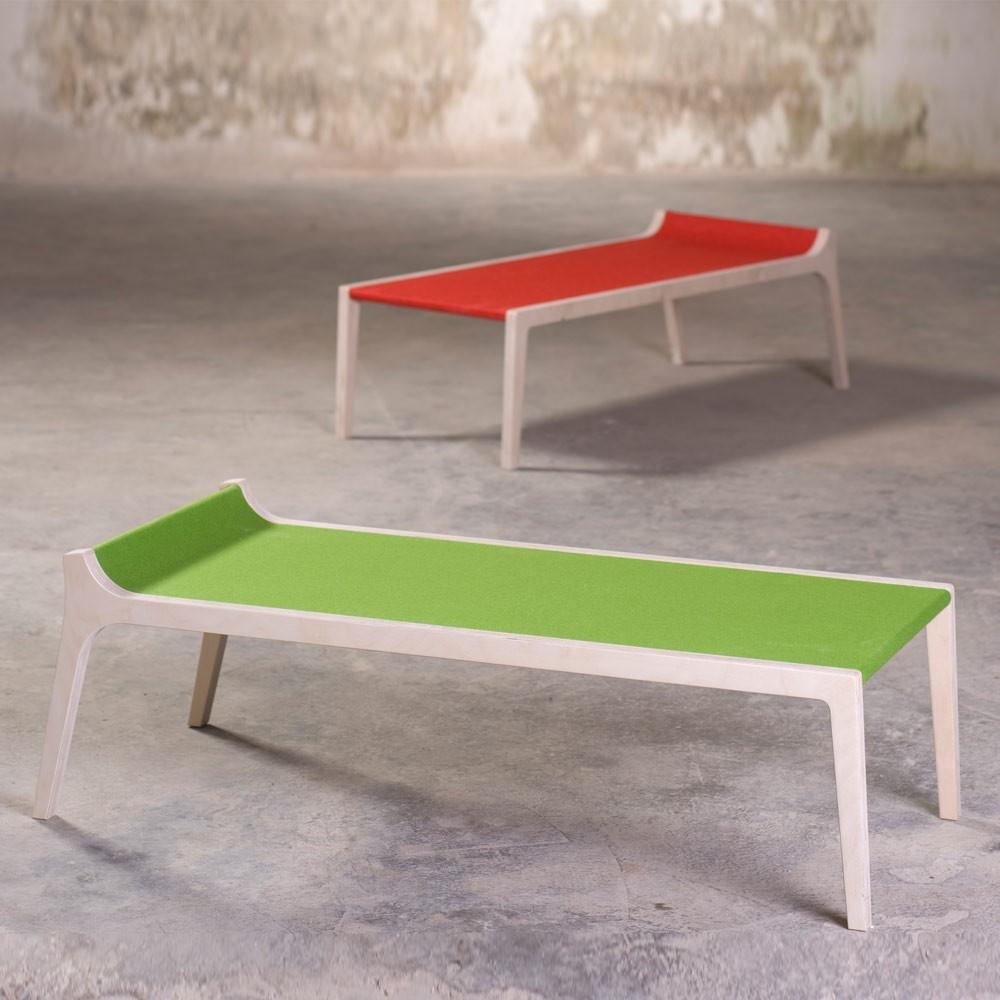 Banc Et Table En Bois - Banc table Erykah en bois et feutre gris Gris Sirch Design Enfant