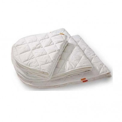 Table langer et matelas lin a ch ne leander design b b for Lit ovale bebe