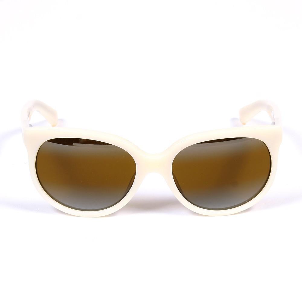 lunettes de soleil cat eye ivoire blanc cass finger in the. Black Bedroom Furniture Sets. Home Design Ideas