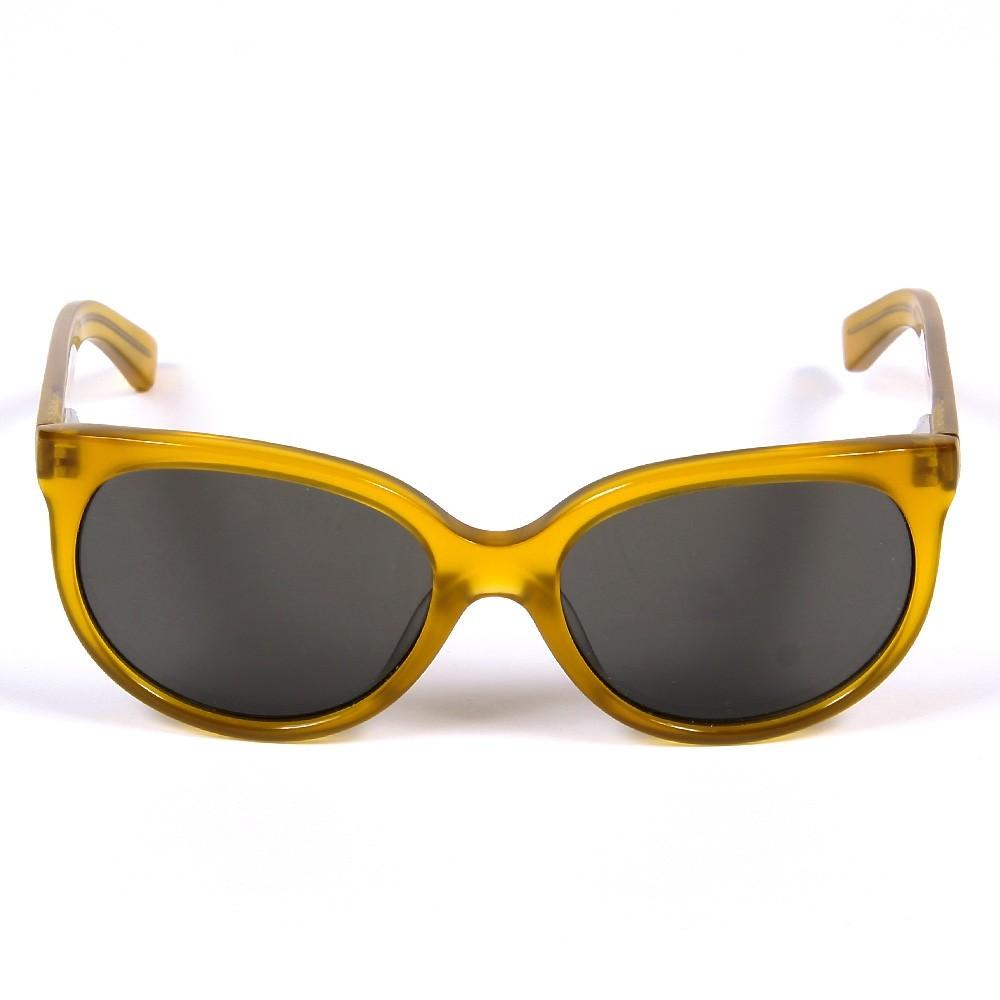 lunettes de soleil cat eye jaune jaune citron finger in the. Black Bedroom Furniture Sets. Home Design Ideas