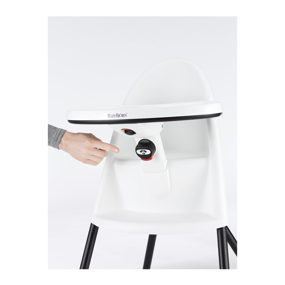 Chaise Haute Blanc By Babybj 246 Rn Design B 233
