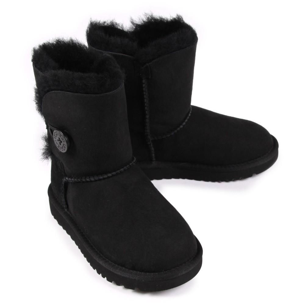 bottes bailey fourr es noir ugg chaussure b b enfant. Black Bedroom Furniture Sets. Home Design Ideas
