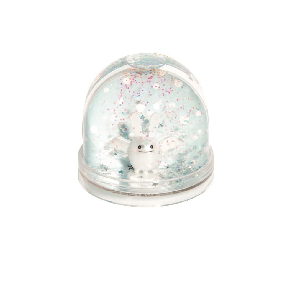 boule neige ange lapin blanc trousselier design b b. Black Bedroom Furniture Sets. Home Design Ideas
