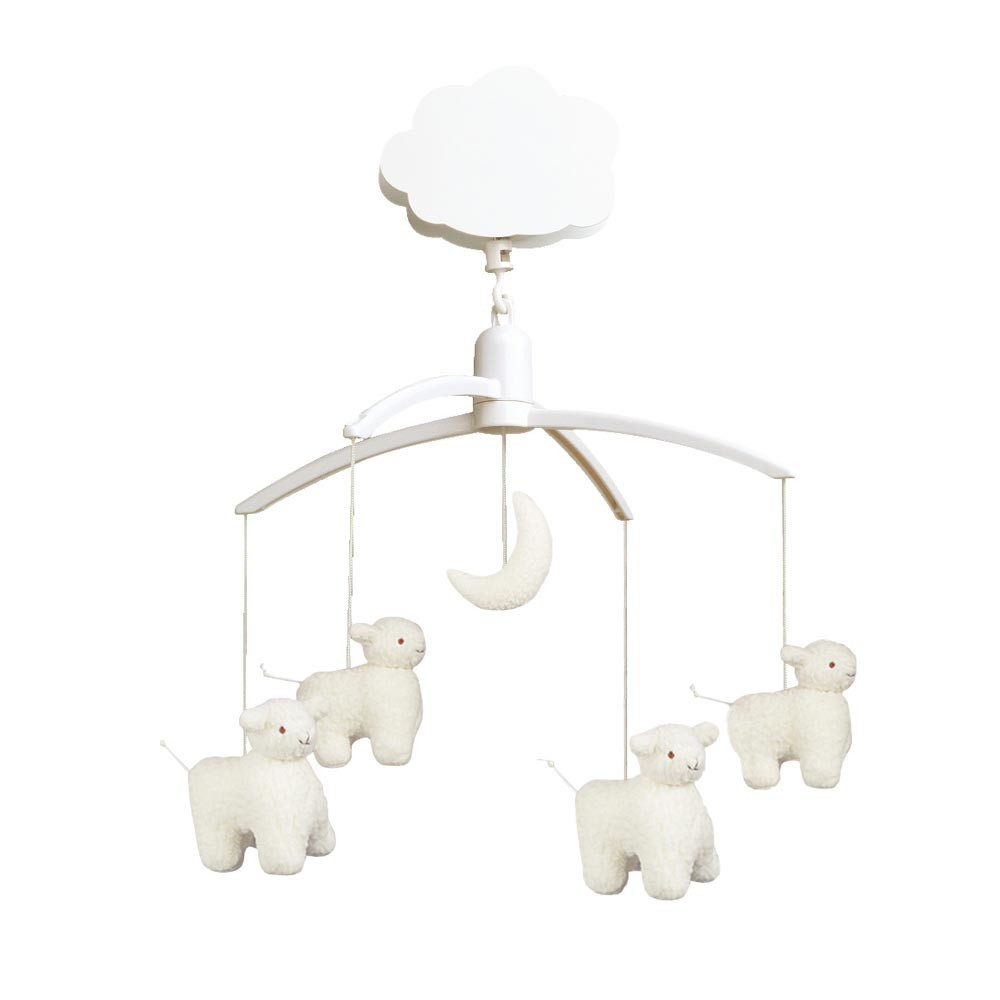 musical sheep mobile trousselier design baby. Black Bedroom Furniture Sets. Home Design Ideas
