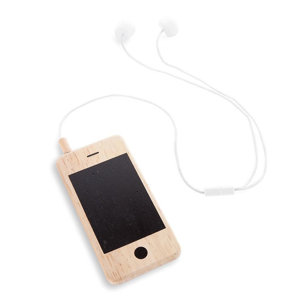 i wood mon premier t l phone portable naturel donkey products. Black Bedroom Furniture Sets. Home Design Ideas