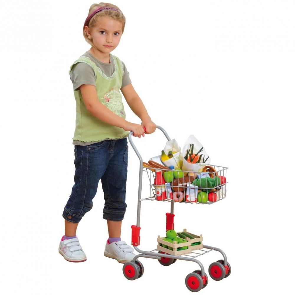 chariot pour les courses erzi jouet et loisir adolescent. Black Bedroom Furniture Sets. Home Design Ideas