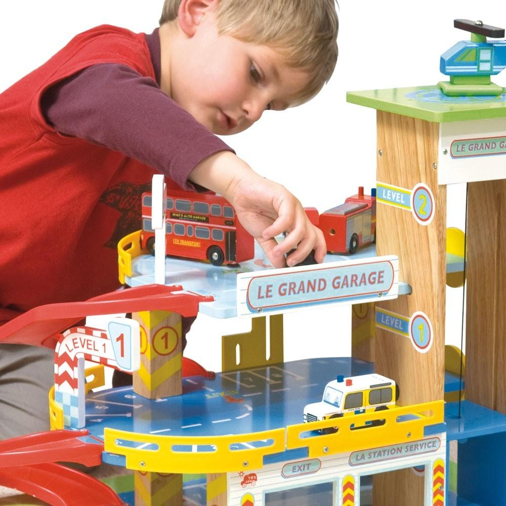 Le grand garage le toy van jouet et loisir adolescent enfant - Grand garage voiture jouet ...
