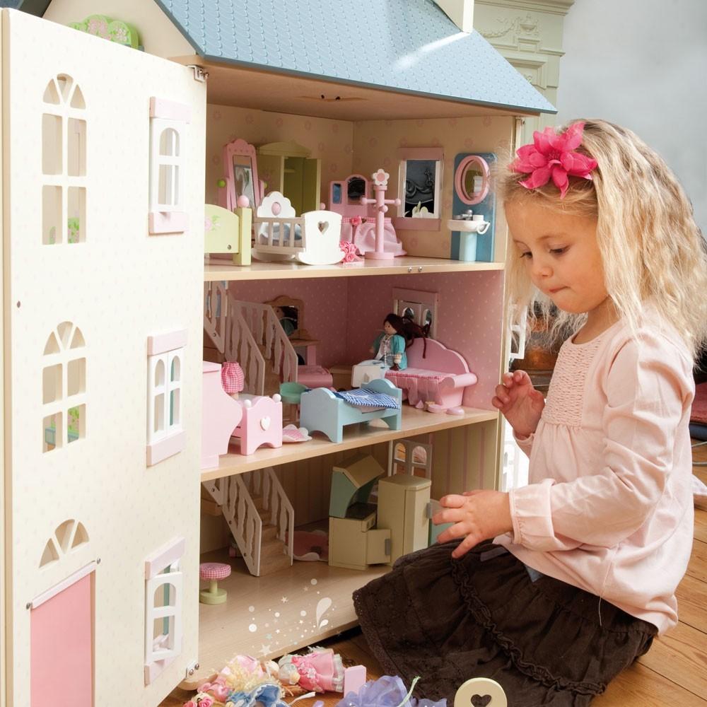 Как сделать дом кукол и все для него