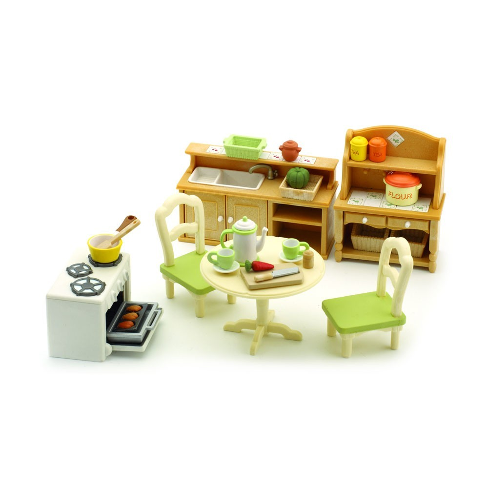 set cuisine sylvanian jouet et loisir enfant. Black Bedroom Furniture Sets. Home Design Ideas