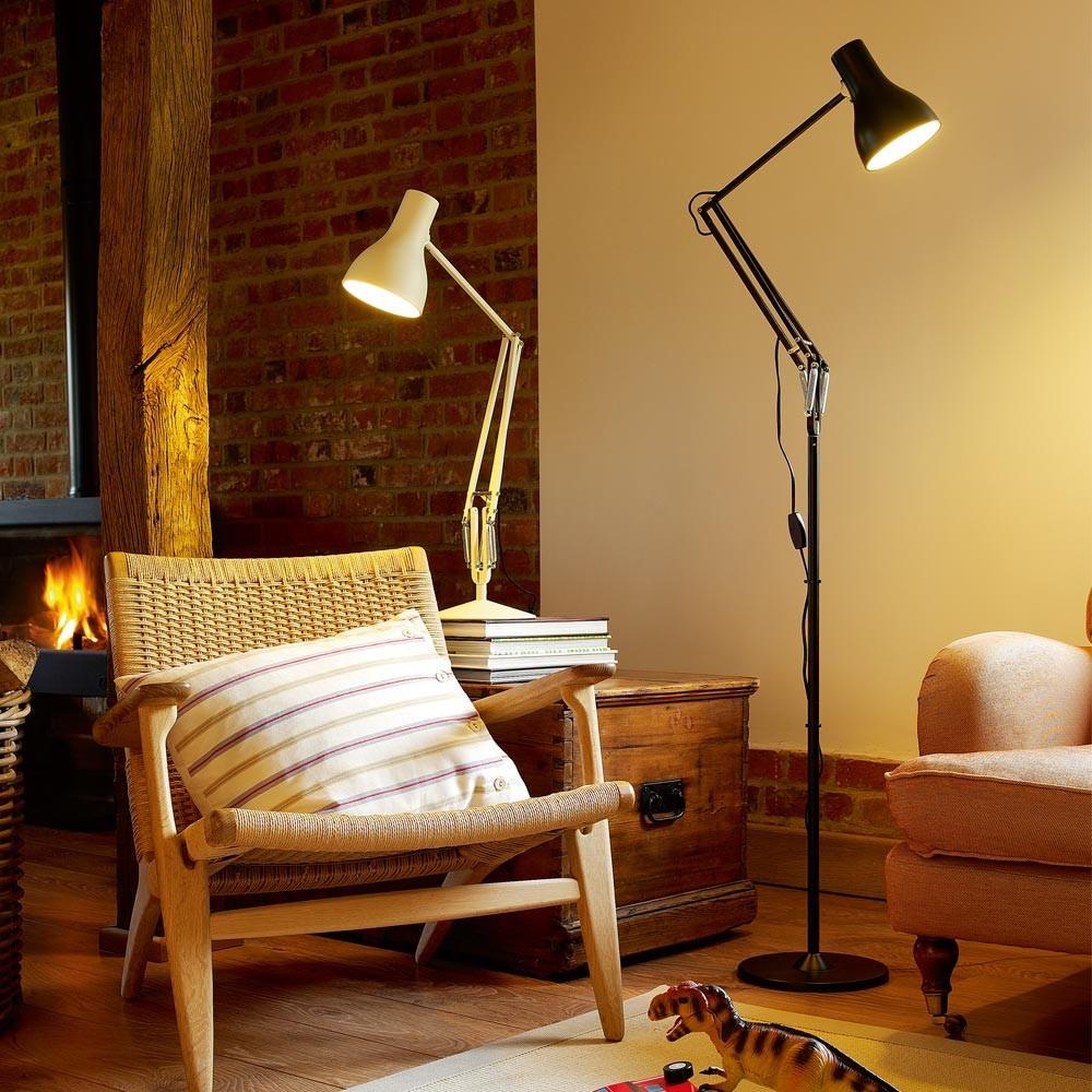 Anglepoise Lampe de bureau Type75 - Aluminium brossé Gris-product