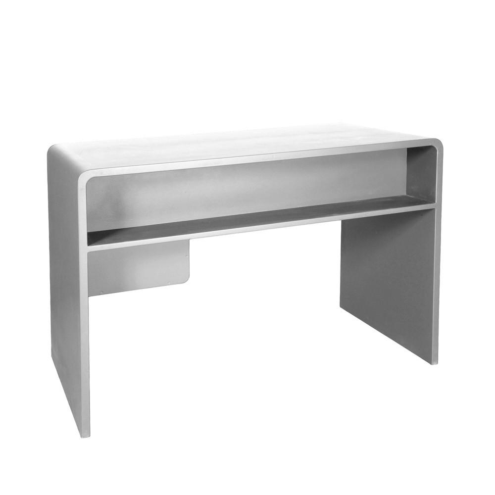 bureau l65 gris clair laurette design enfant. Black Bedroom Furniture Sets. Home Design Ideas