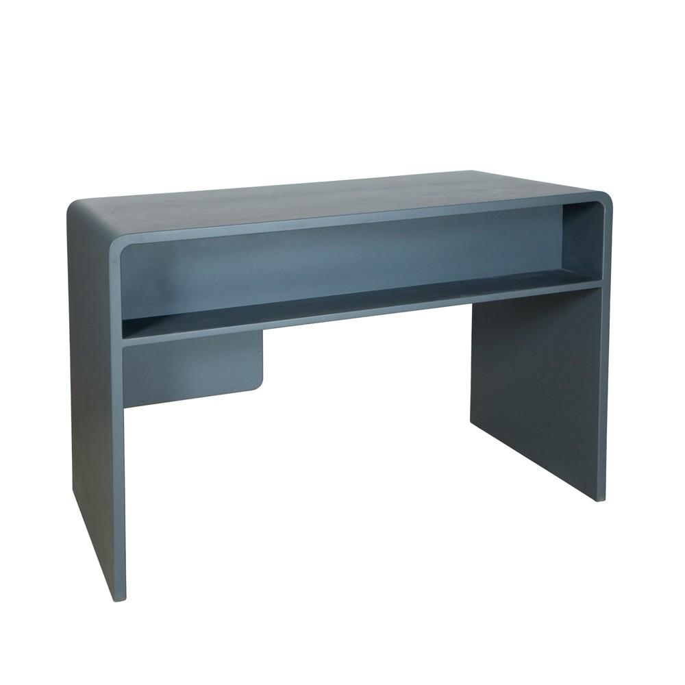 Bureau l65 gris fonc laurette design enfant - Bureau gris taupe ...