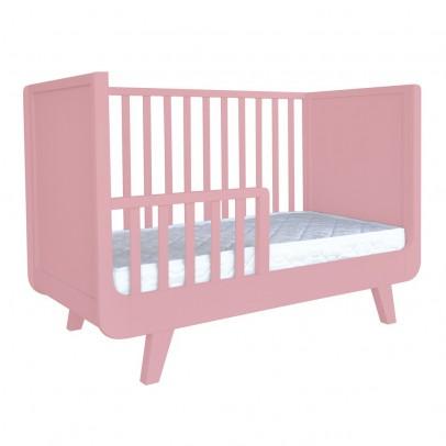 lit volutif roulotte 60x120 cm gris laurette design b b. Black Bedroom Furniture Sets. Home Design Ideas