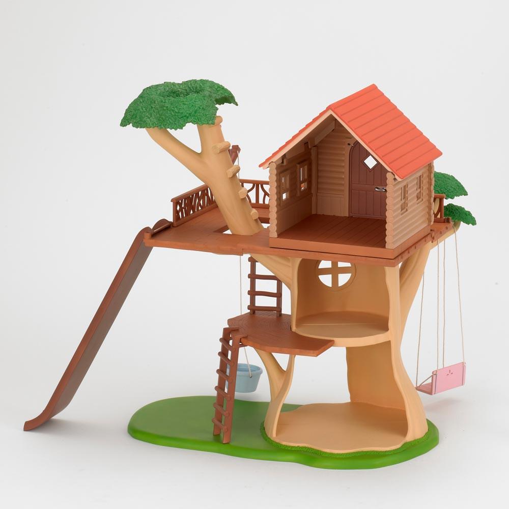 Cabane dans les arbres sylvanian jouet et loisir adolescent for Arbre maison jouet