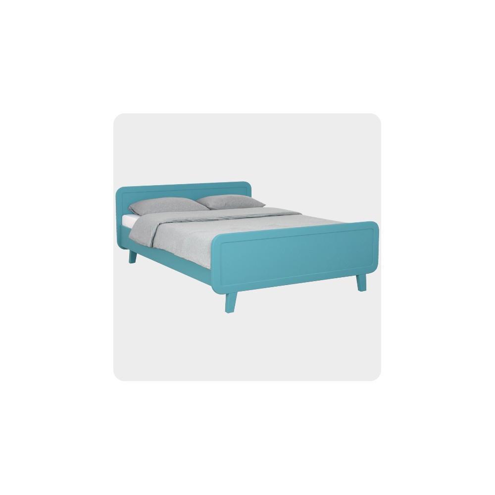 rundes bett 140x200 cm laurette design kind. Black Bedroom Furniture Sets. Home Design Ideas