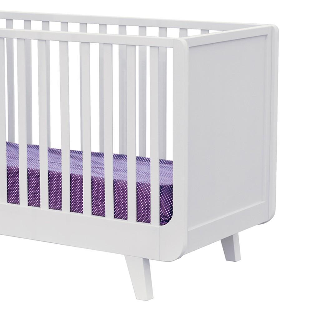 lit volutif joli m me 60x120 cm blanc laurette design b b. Black Bedroom Furniture Sets. Home Design Ideas