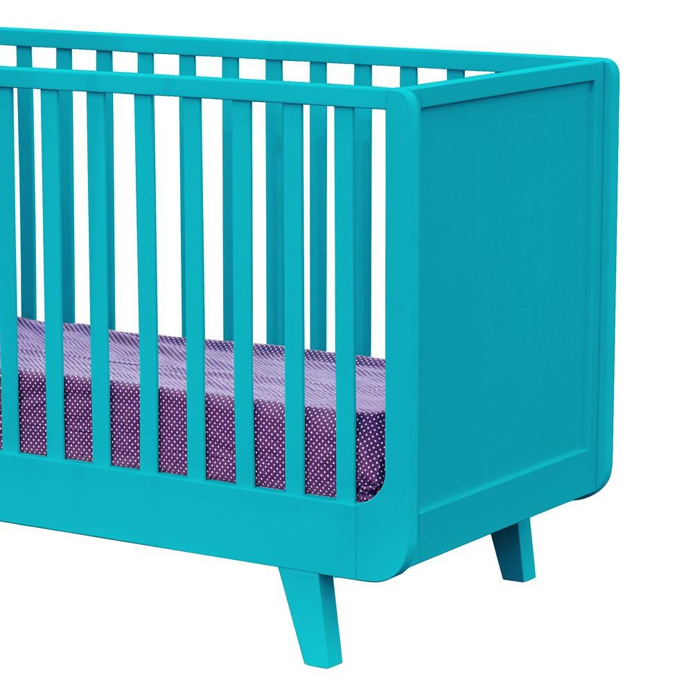 lit volutif joli m me 60x120 cm turquoise laurette design. Black Bedroom Furniture Sets. Home Design Ideas