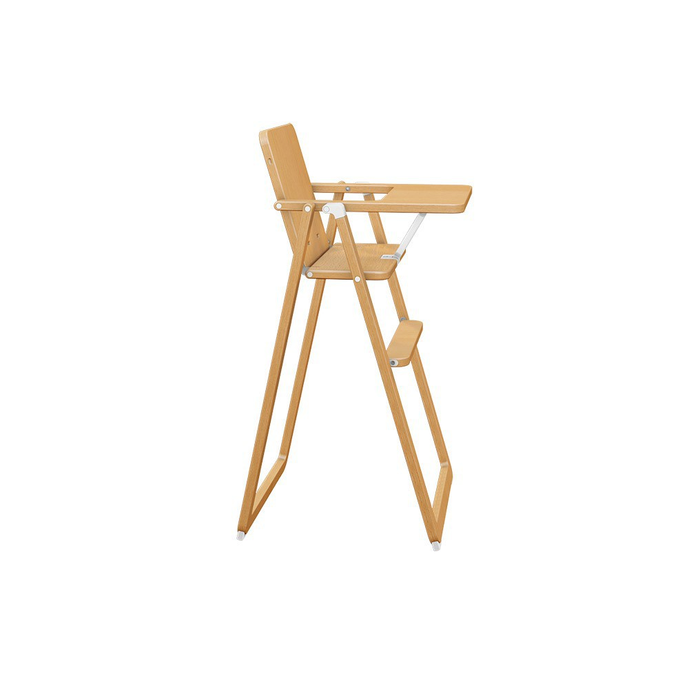 Chaise haute supaflat naturel supaflat design b b for Chaise haute fille