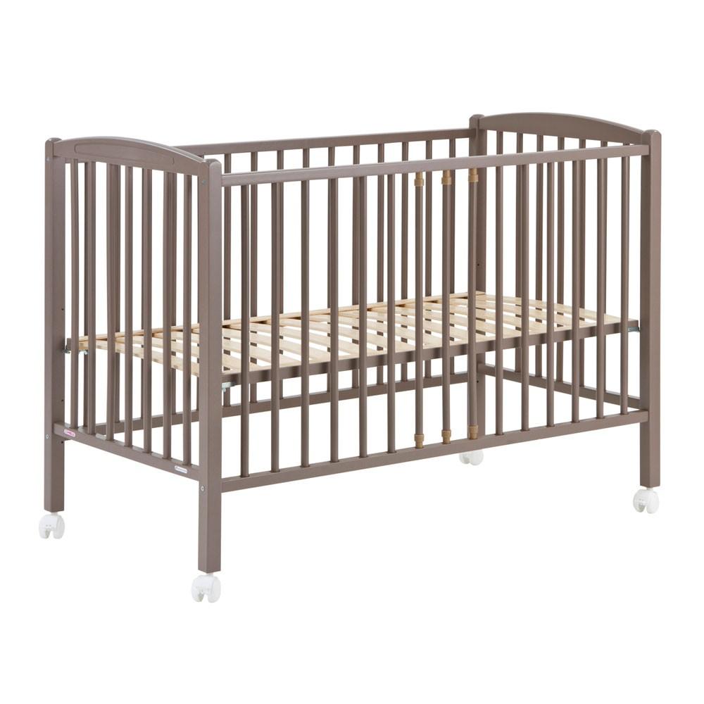 babybett 60x120 cm lackiert taupe combelle design baby. Black Bedroom Furniture Sets. Home Design Ideas