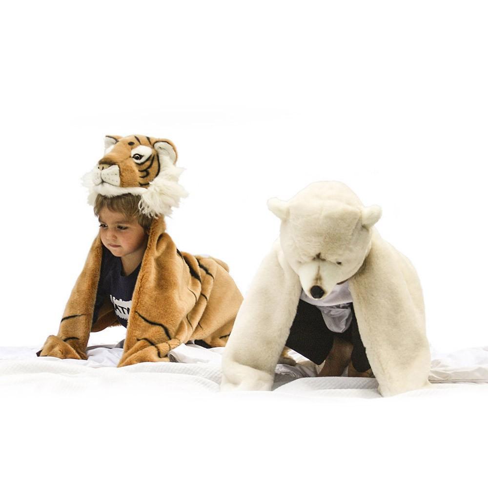 d guisement peau de b tes ours polaire wild soft bibib jouet. Black Bedroom Furniture Sets. Home Design Ideas