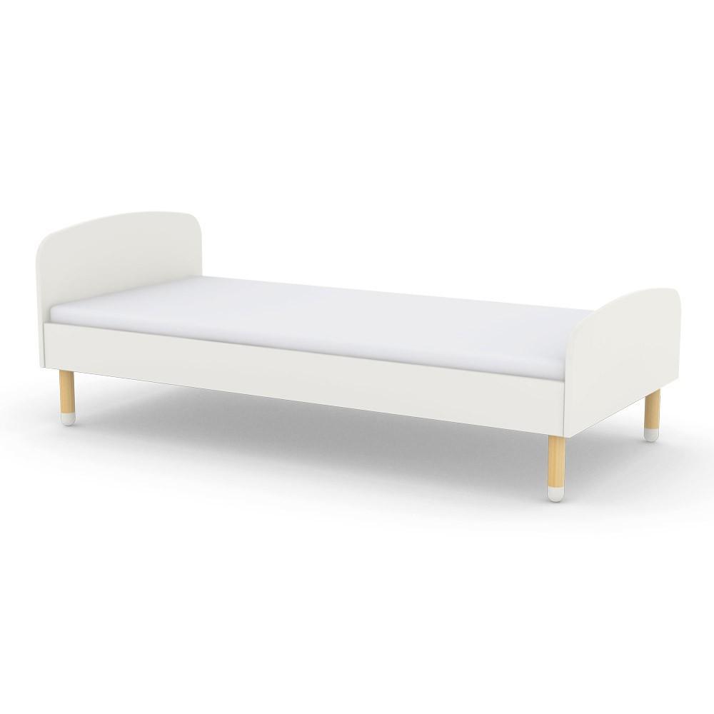 Child bed 90x200 cm white flexa play design children - Bed cm ...