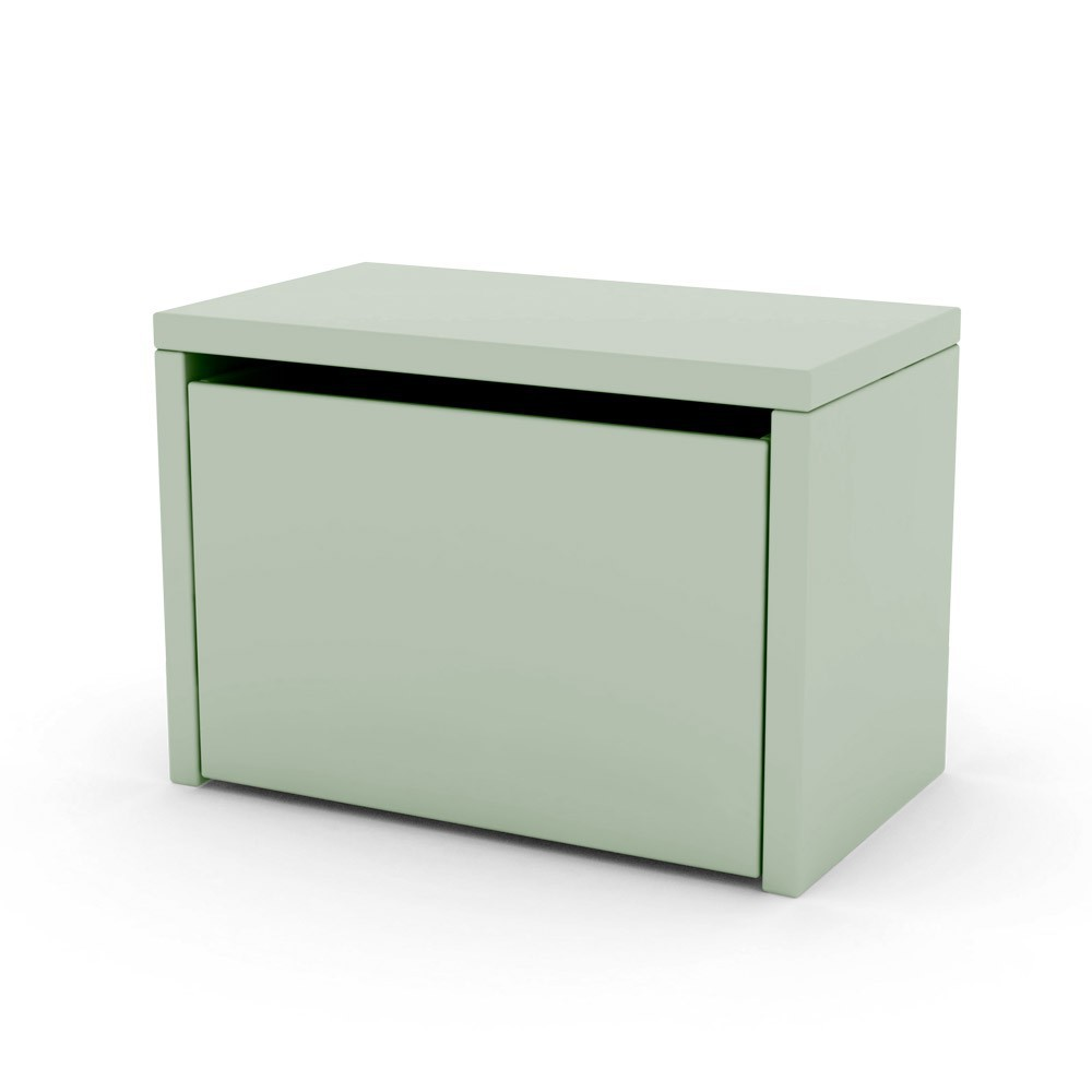Table de chevet coffre de rangement vert d 39 eau flexa play for Mini table de chevet