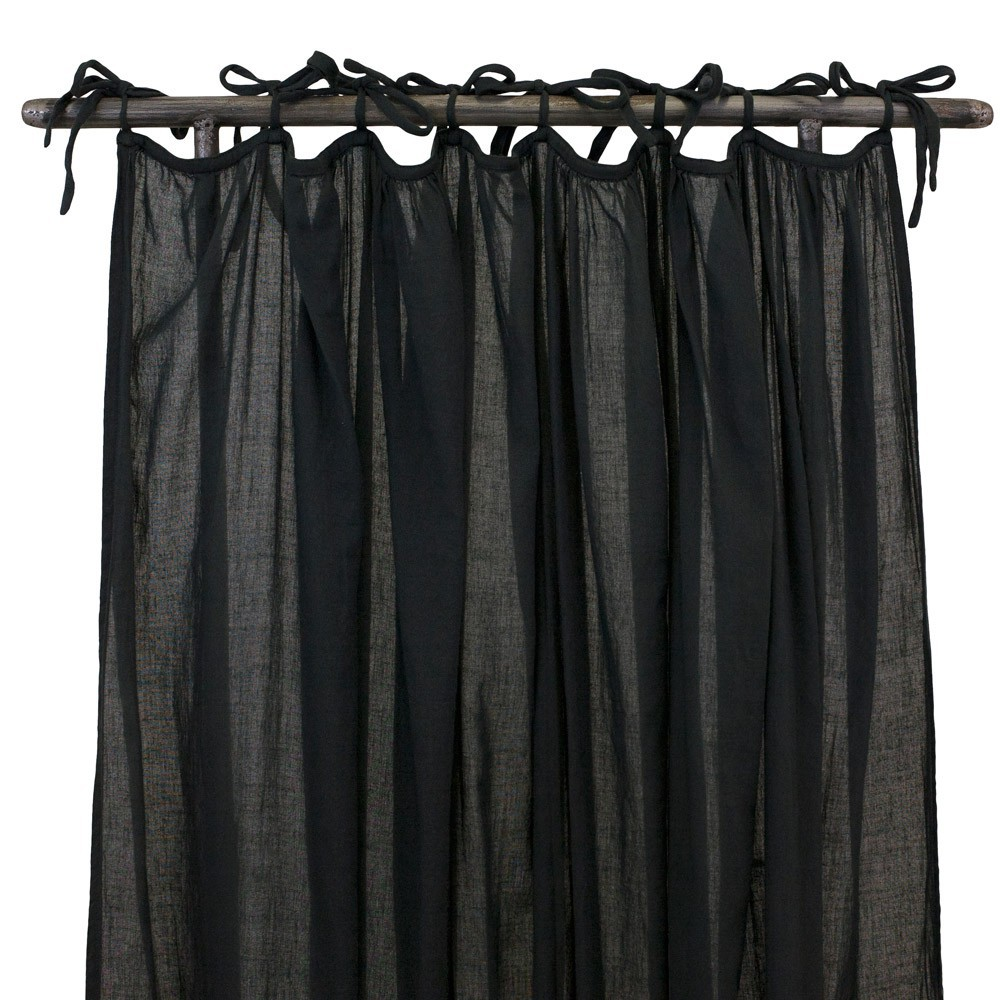rideau fin gris anthracite numero 74 design enfant. Black Bedroom Furniture Sets. Home Design Ideas