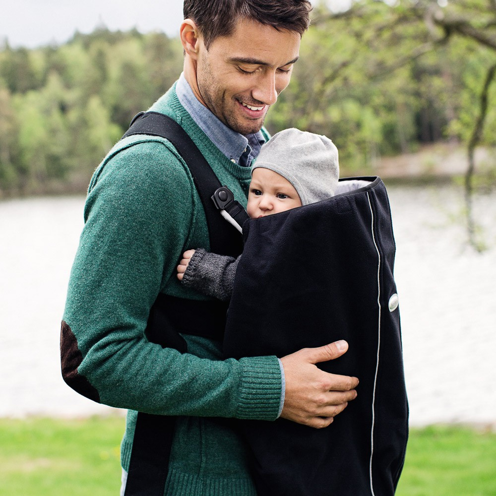 Cape pour porte bébé Noir BabyBjörn Design Bébé
