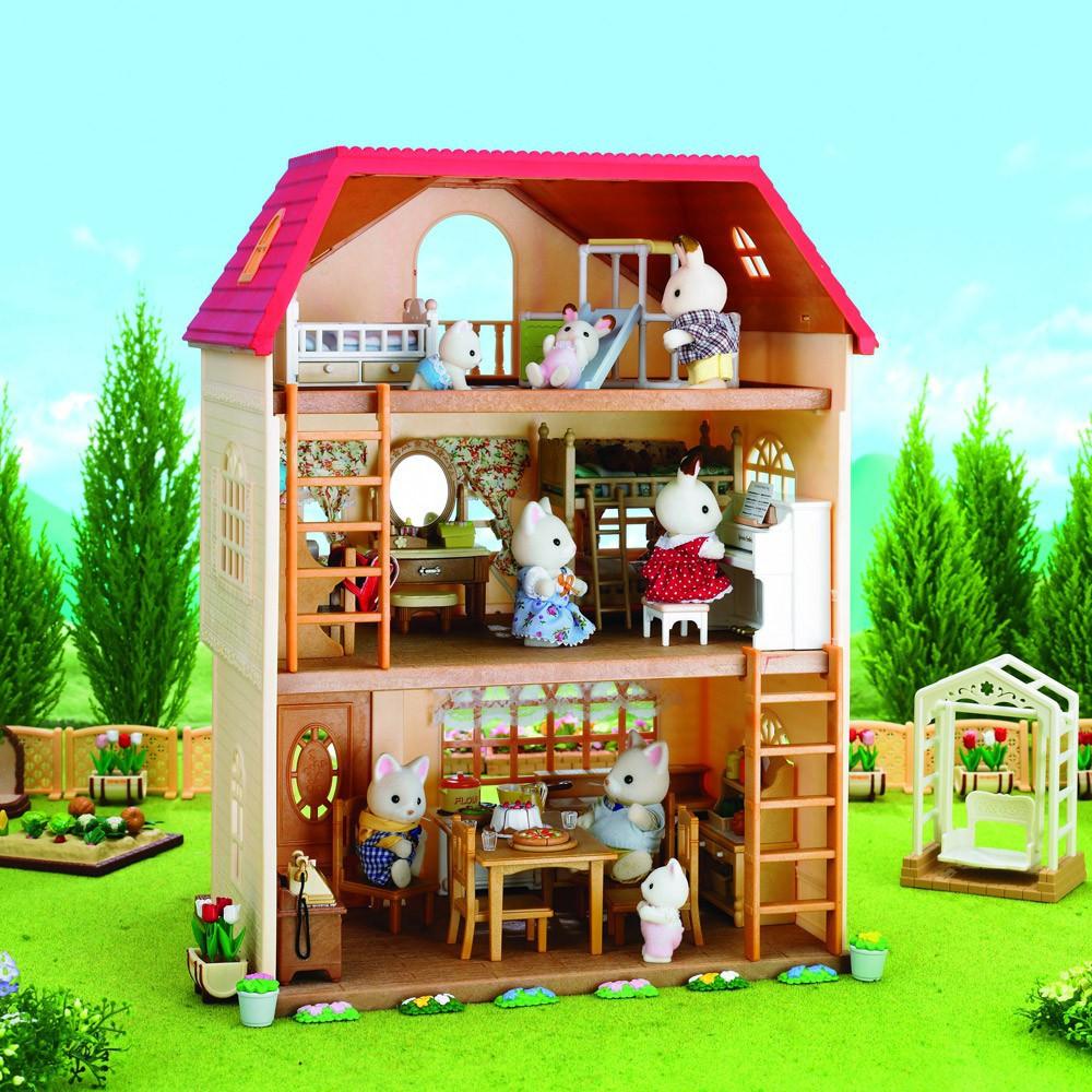Casa dalle 3 storie piani sylvanian giocattoli e hobby bambino for Aggiungere piani casa