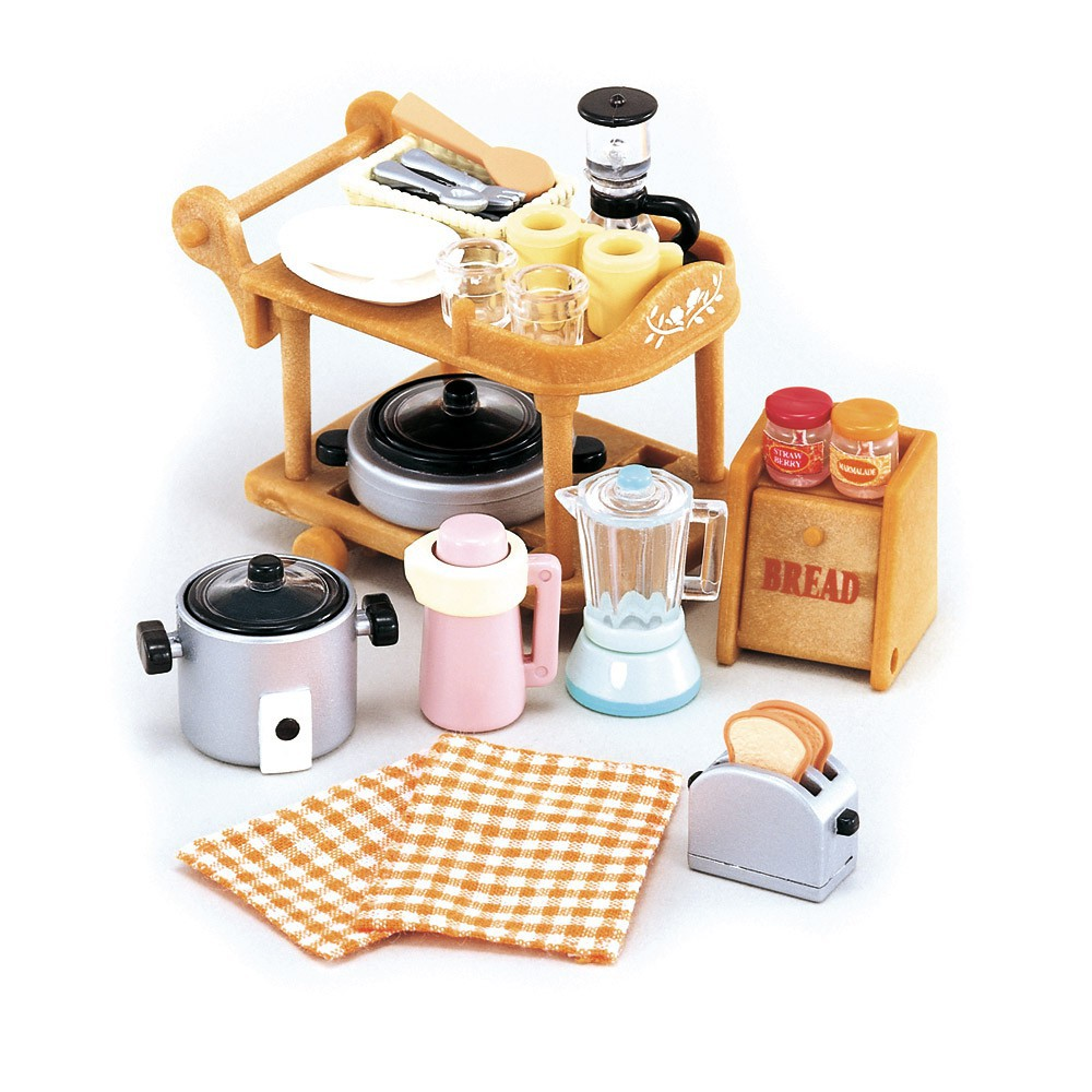 batterie de cuisine sylvanian de sylvanian. Black Bedroom Furniture Sets. Home Design Ideas