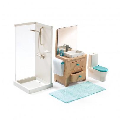 Arredamento casa delle bambole bambino femmina - Sala da bagno ...