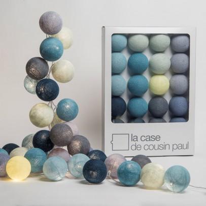 guirnalda luminosa 20 bolas tao tong la case de cousin paul. Black Bedroom Furniture Sets. Home Design Ideas