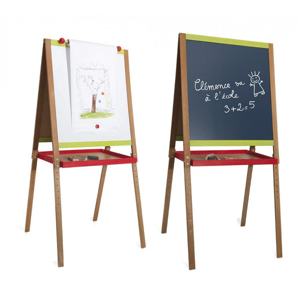 grand tableau cr atif avec fonction dessin jeujura jouet et. Black Bedroom Furniture Sets. Home Design Ideas