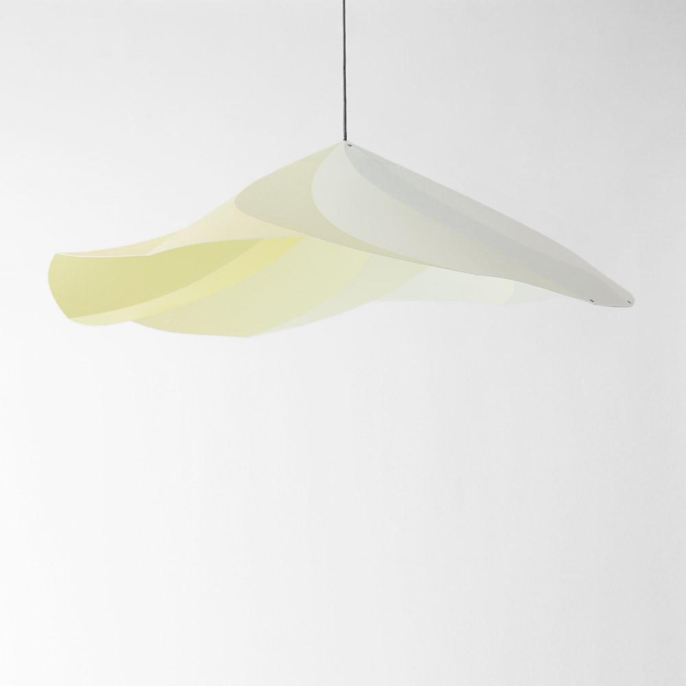 suspension chantilly constance guisset jaune p le moustache. Black Bedroom Furniture Sets. Home Design Ideas