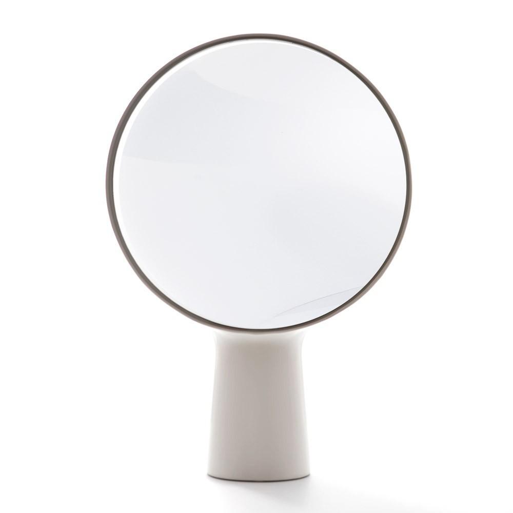 miroir poser cyclope ionna vautrin blanc moustache design. Black Bedroom Furniture Sets. Home Design Ideas