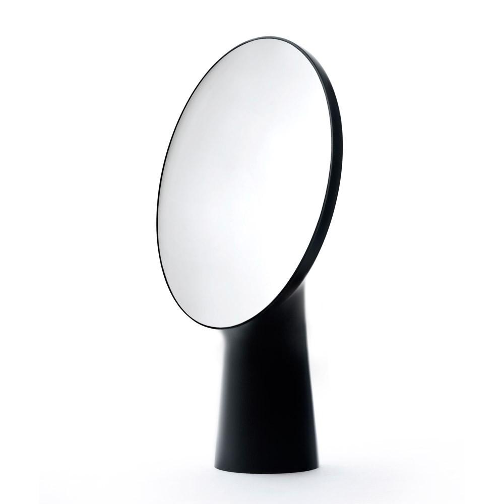 Miroir poser cyclope ionna vautrin noir moustache design for Miroir xxl a poser