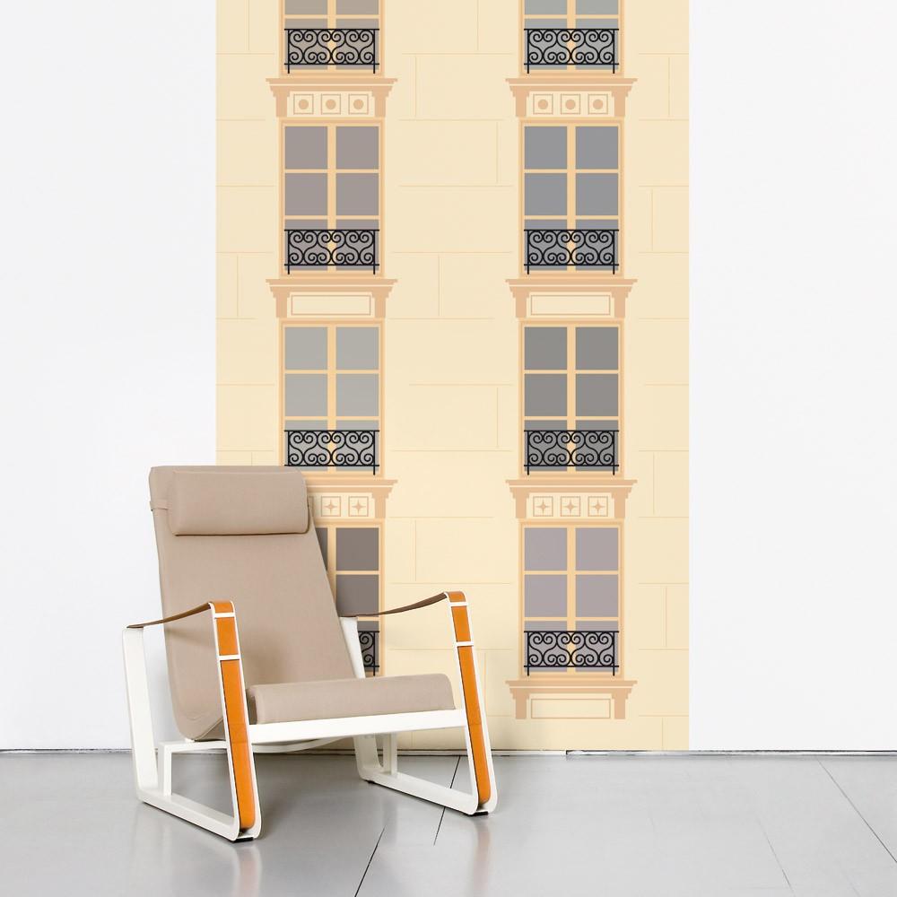 papier peint paris vs new york paris domestic design enfant. Black Bedroom Furniture Sets. Home Design Ideas